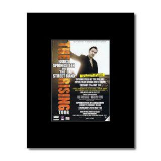 BRUCE SPRINGSTEEN   UK Tour 2003   Black Matted Mini Poster