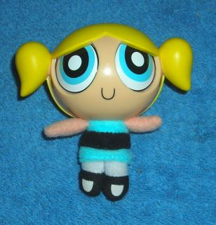 CARTOON NETWORK POWERPUFF GIRLS BUBBLES 3.5 SLEEP TIME TOY PLUSH