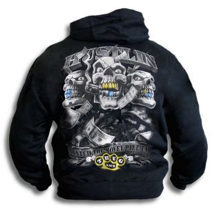 Gangster Hustler Thug Bling Mens Womens Youth Hoody Sm 2XL Hooded Top