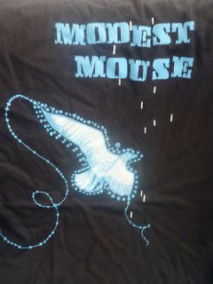MODEST MOUSE BLACK 200? TOUR T SHIRT SIZE LARGE.NEW