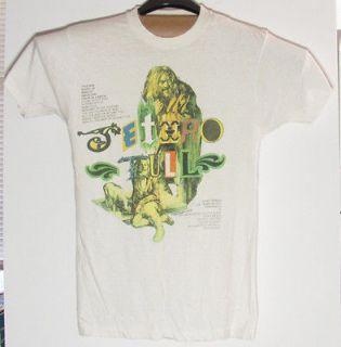 Original Vintage 1989 Jethro Tull Rock Island Concert Tour T Shirt