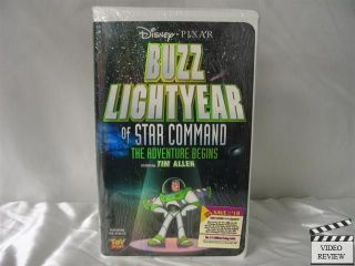 Buzz Lightyear of Star Command VHS NEW Tim Allen