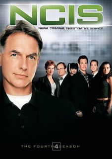NCIS   The Complete Fourth Season DVD, 2007, 6 Disc Set, Widescreen