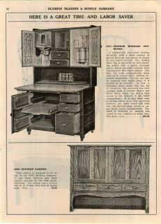 Mother Hubbard Kitchen Cupboard Cabinet Hoosier Type Kitchen Treasure