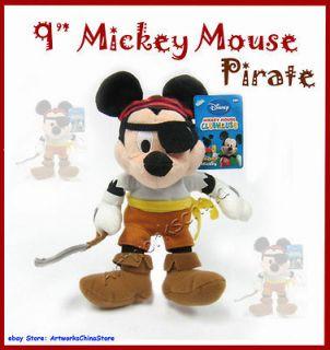 Disney PRIATE Mickey Mouse Figure Plush Stuffed Toy Doll
