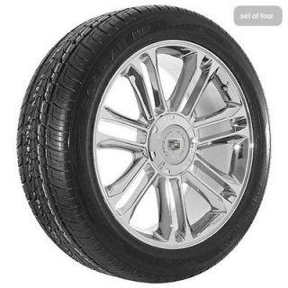22 inch Cadillac Escalade platinum edition chrome wheels rims and