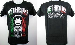Cain Velasquez UFC Dethrone Royalty Rock of Cain 2012 Black T shirt