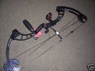 PSE CHAOS BLACK  NEW R/H  50/40    solo cam