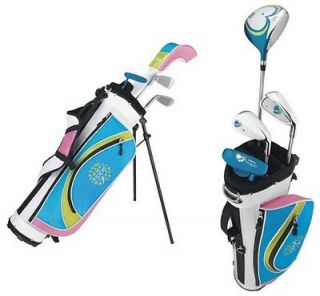 WILSON HOPE Junior Girls Complete Golf Club Set w/ Bag   Driver, 6i