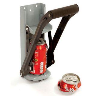 Soda can crusher aluminum can crusher beer can crusher pop can crusher