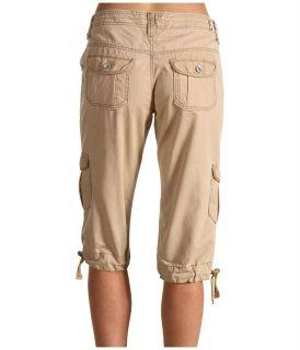 Levis Jeans Petiet Size Chico Khaki Capitola Cargo Capri Pants 0001