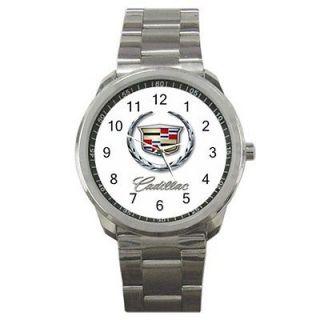 Cadillac Car Automobile Logo Sport Metal Watch Gift
