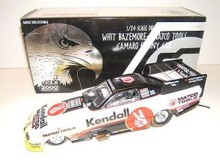 24 RC Authentics MATCO TOOLS Whit Bazemore Black KENDALL FUNNY CAR