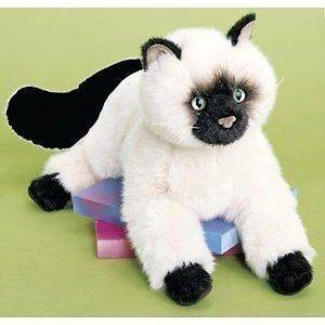 Cuddle Tasha the Himalayan Cat Kittens Plush Stuffed Animal Child Toys