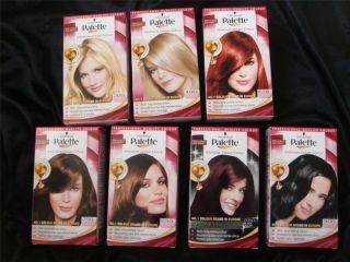 Any 2 Schwarzkopf PALETTE Hair Color Colour Hair Dye s