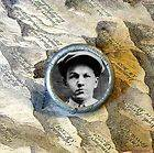 BABY FACE NELSON Altered art photo portrait TIE TACK tac pin