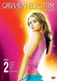 Carmen Electras Fit to Strip DVD, 2004, Checkpoint