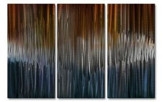 Energize IV Metal Wall Art For Modern Settings, Abstract Wall