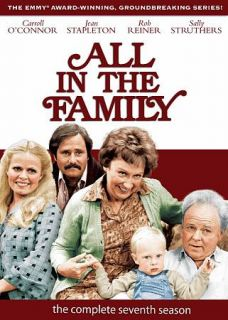 All in the Family The Complete Seventh Season DVD, 2010, 3 Disc Set