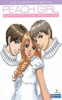 Peach Girl Super Pop Love Hurricane   The Complete Series DVD, 2008, 6