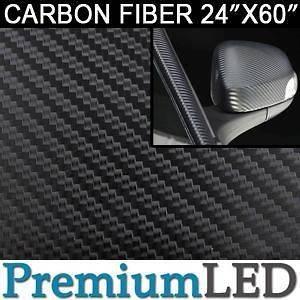 cm) Black 3D Twill Weave Carbon Fiber Vinyl Sticker Roll Decal #80