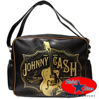 Johnny Cash Nappy Bag Cool Rockabilly Punk 60s Retro Sun Baby Country
