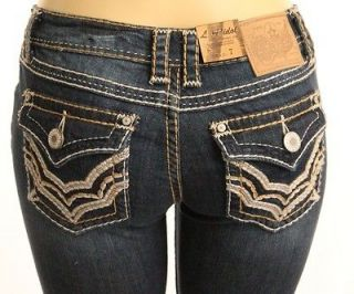 LA IDOL SKINNY JEANS MEDIUM WASH WITH TWO TONE PICK STITCHING   3934NR
