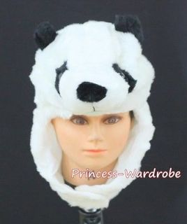 For Halloween Cute Panda Bear Cat Hat Party Costume ONE Free Size Gift