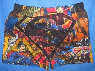 SUPERMAN Clark KENT movie Comic Book MENS New Boxer Shorts UNDERWEAR S