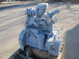 Allis Chalmers 7000 Diesel 4 Cylinder Engine Runs Good Military