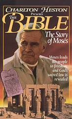 Charlton Heston Presents the Bible   The Story of Moses VHS, 1995