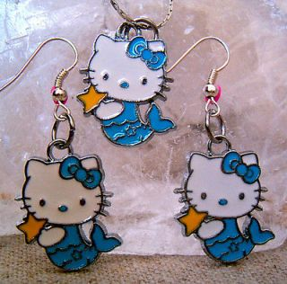 hello kitty chain earring in Earrings