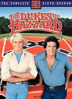 Dukes of Hazzard   The Complete Sixth Season DVD, 2006, 4 Disc Set