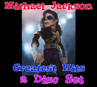 Disc Karaoke CDG Set Michael Jackson Greatest Hits