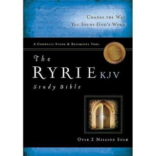 NEW Ryrie Study Bible KJV [With DVD]   Ryrie, Charles