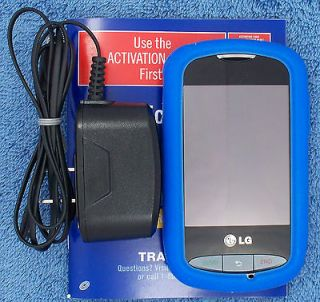 LG 800G   Black (TracFone) Cellular Phone with 500+ minutes