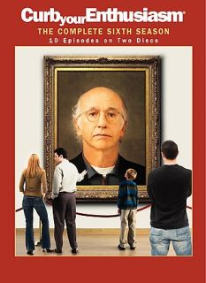 Curb Your Enthusiasm   The Complete Sixth Season DVD, 2008, 2 Disc Set