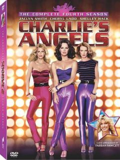 Charlies Angels   The Complete Fourth Season DVD, 2009, 5 Disc Set