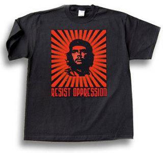 Che Guevara RESIST OPPRESSION SHIRT MEN NEW BLACK