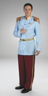 ADULT PRINCE CHARMING CINDERELLA DELUXE COSTUME DG5969