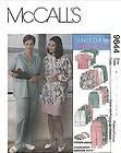 OOP Scrubs Cardigan Top Pants Skirt Hat McCalls Sewing Pattern 9644