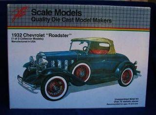 1932 CHEVROLET ROADSTER DIE CAST 1/20 METAL MODEL CAR KIT