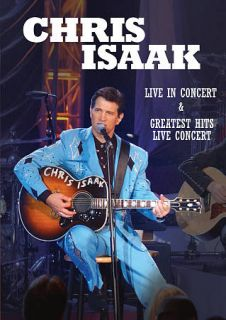 Chris Isaak Live in Concert Greatest Hits Live Concert DVD, 2012