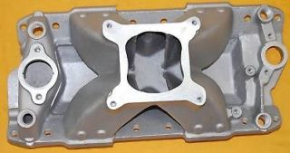 SBC Small Block Chevy Aluminum Intake Pc 2031 350 383 Single Plane