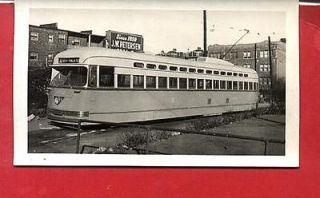 R155 RP 1940s CTA CHICAGO TRANSIT IL TROLLEY STREETCAR  81st