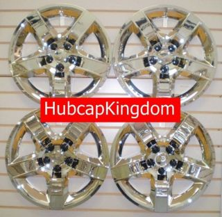 NEW 2007 2010 SATURN AURA Hubcap Wheelcover SET CHROME (Fits: Saturn)