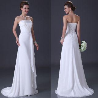chiffon wedding dress in Wedding & Formal Occasion