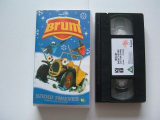 SNOW THIEVES AND OTHER STORIES childrens VHS video cassette BRUM
