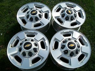 Chevy Silverado alloy wheels 17 2012 tahoe suburban 5500 factory oem