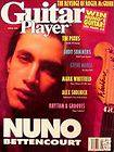 Guitar Player Magazine April 1991 Nuno Bettencourt Roger McGuinn